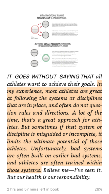 On following systems...